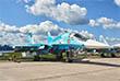 Су-34, истребитель-бомбардировщик, оснащенный средствами радиоэлектронной борьбы, которые позволяют ему выполнять боевые задачи в условиях сильного противодействия средствами ПВО противника