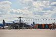 Ударный вертолет Ка-52 отправляется выполнять летную программу