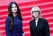 С дочерью Анастасией Шубской перед началом церемонии открытия 39-го Московского международного кинофестиваля. 2017 год.