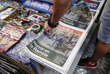 Первые полосы утренних газет Барселоны, посвященные страшной трагедии