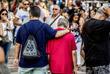 Акция памяти на улице Рамбла в Барселоне
