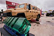 Военное машиностроение демонстрирует, что дела его обстоят не хуже, чем в заигравшем новыми моделями автомобилей гражданском: на площадках красуются бронеавтомобили и вездеходы на любой вкус и цвет, для любых задач