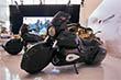 """Концерн """"Калашников"""" привез на форум не только свое знаменитое на весь мир стрелковое оружие (к которому заслуженно выстроилась огромная очередь из желающих передернуть затвор и спустить курок), но и катера, мотоциклы (в том числе - электромотоцикл), тяжелый мотоцикл с ДВС, разработанным концерном (на фото), автономные боевые модули"""