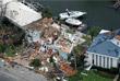 Власти оценивают степень ущерба, нанесенного ураганом. Повреждено множество зданий, подтоплены улицы.
