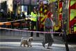 К станции метро прибыли полицейские, пожарные расчеты, а также вертолет экстренных служб