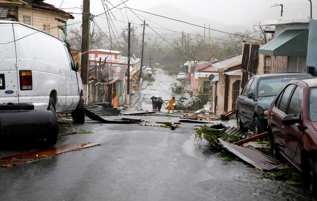 Из-за урагана погиб по меньшей мере один житель Пуэрто-Рико