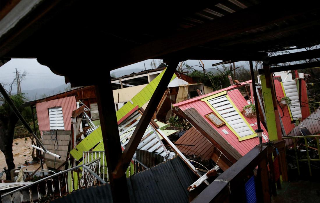 Накануне ураган прошел по острову Доминика и заморской территории Франции - Гваделупе