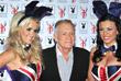 """Основатель журнала Playboy и """"Bunny Girls"""" в Лондоне. Июнь 2011 года."""