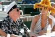 Создатель Playboy с одной из своих подруг Холли Мэдисон. Июнь 2007 года.