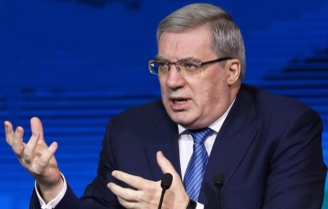 Бывший глава Красноярского края Виктор Толоконский, 64 года