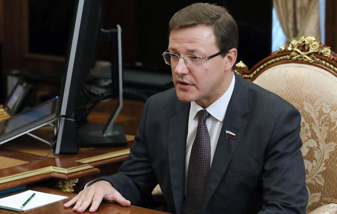 Временно исполняющий обязанности губернатора Самарской области Дмитрий Азаров, 47 лет