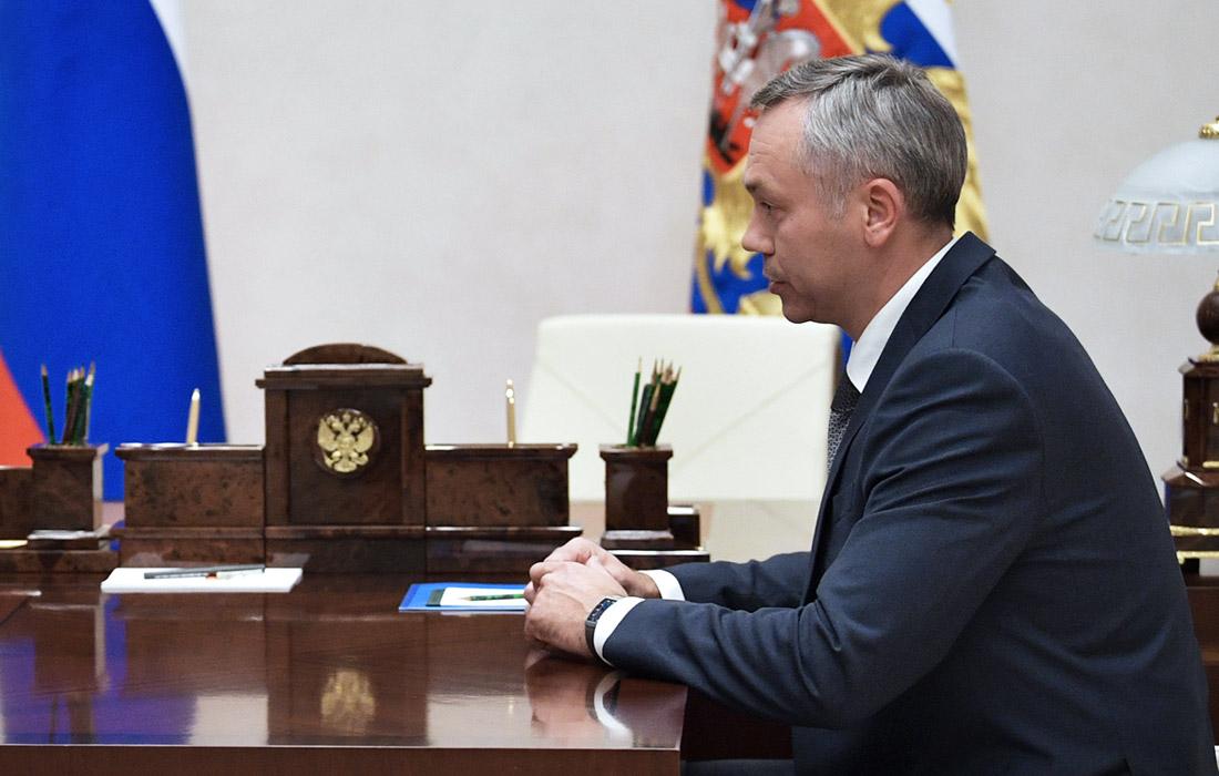 Временно исполняющий обязанности губернатора Новосибирской области Андрей Травников, 46 лет