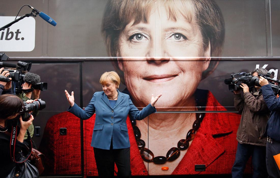 1-е место - канцлер Германии Ангела Меркель