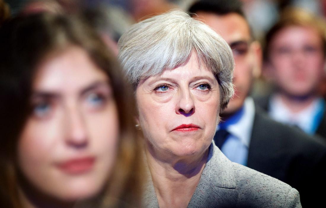 2-е место - премьер-министр Великобритании Тереза Мэй