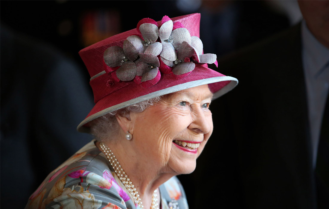 26-е место - королева Елизавета II