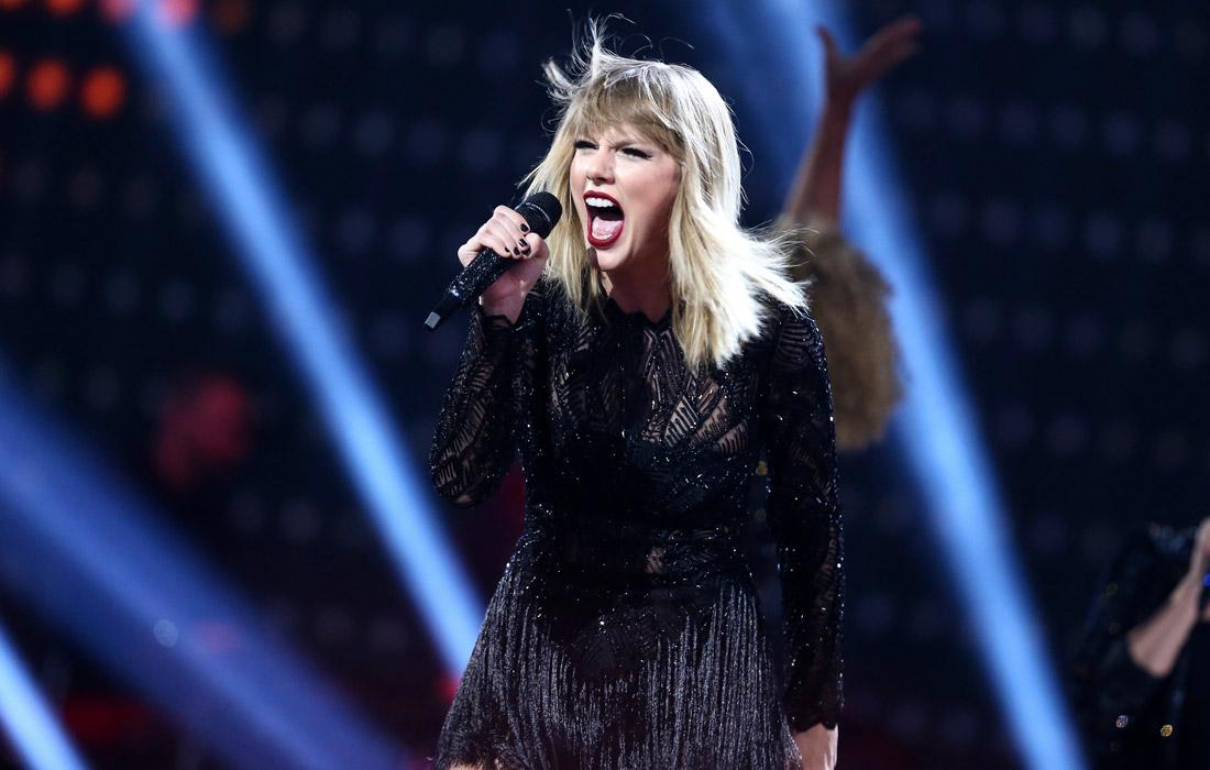 85-е место - американская певица Тейлор Свифт