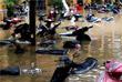 Оказались затоплены улицы города Хойан, занесенного в список исторического наследия ЮНЕСКО