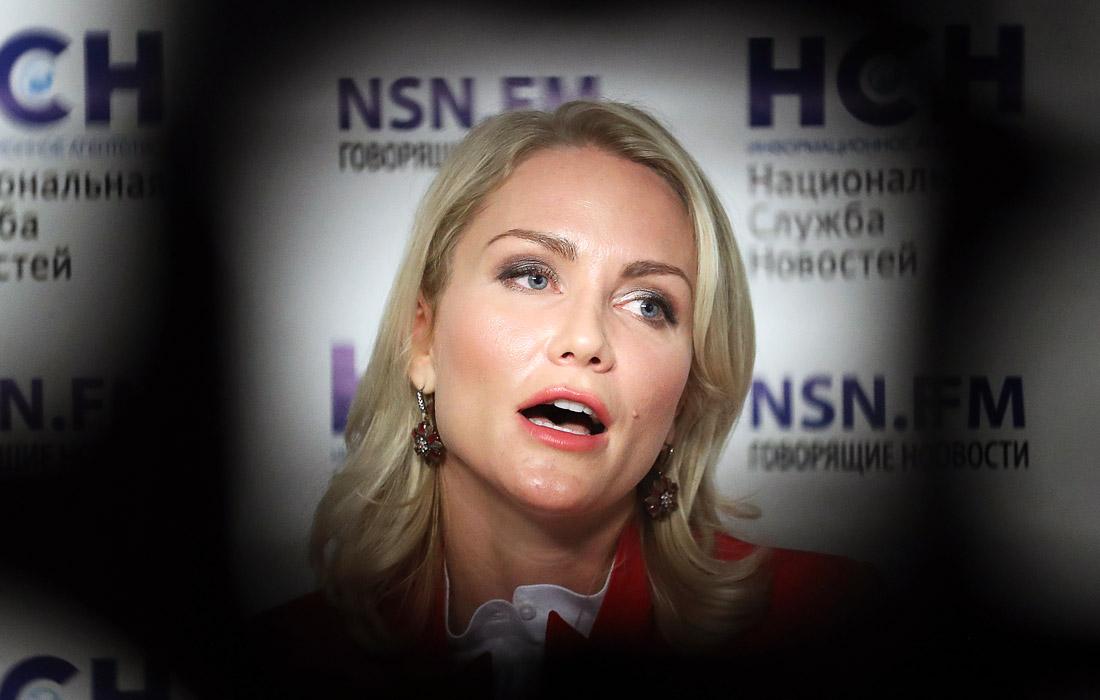 Журналист Екатерина Гордон