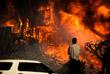 """Самый масштабный пожар, получивший название """"Томас"""", охватил более 36 тыс. гектаров в округе Вентура"""