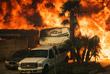 В результате пожаров в южных районах штата сгорело несколько сотен зданий