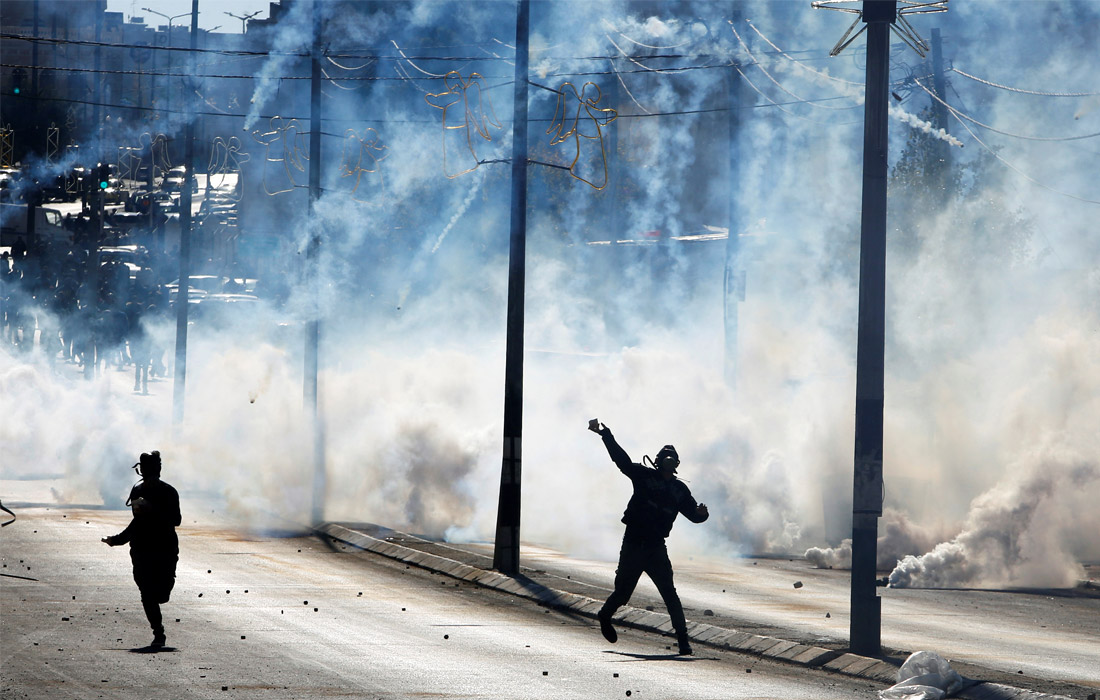 """""""День гнева"""" в Палестине"""