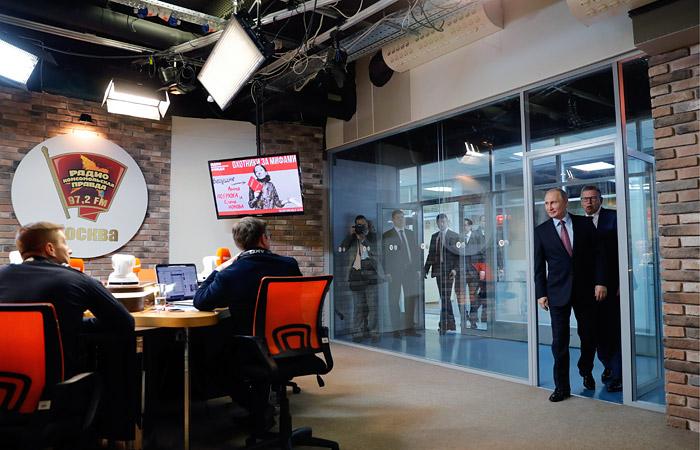 Путин заявил о желании Вашингтона видеть Навального в руководстве России
