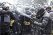 Столкновения у здания Рады в Киеве