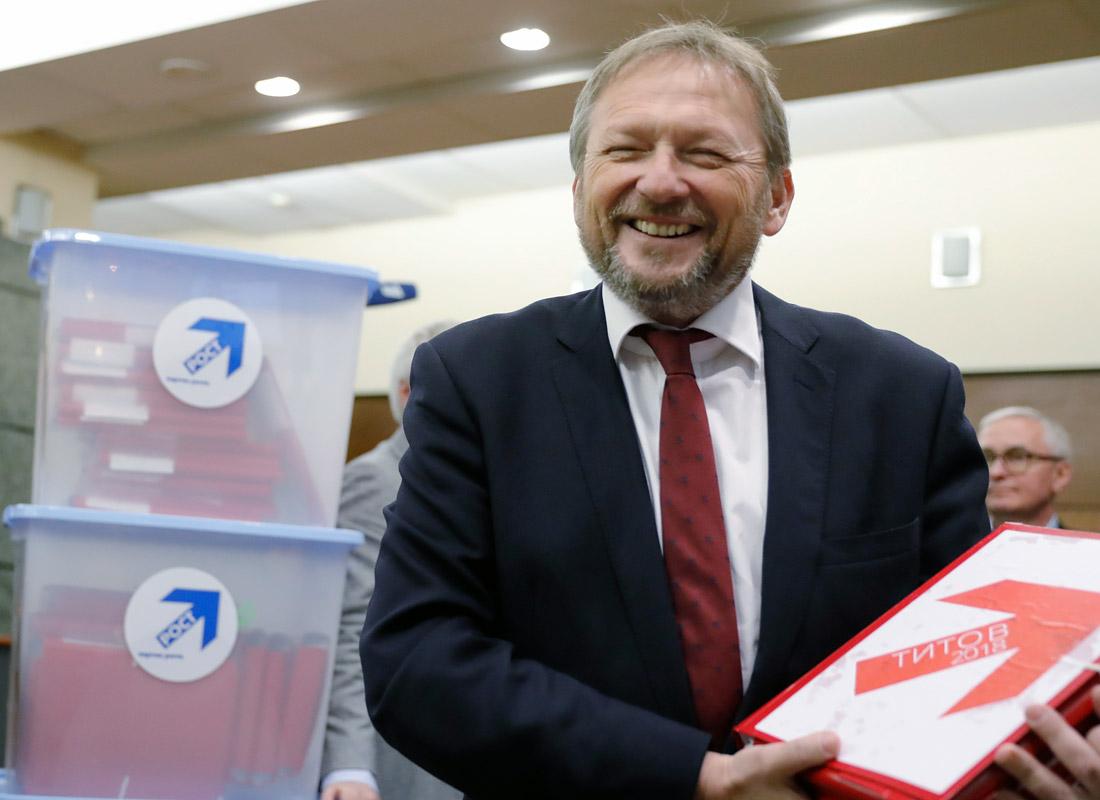 Борис Титов: 2018