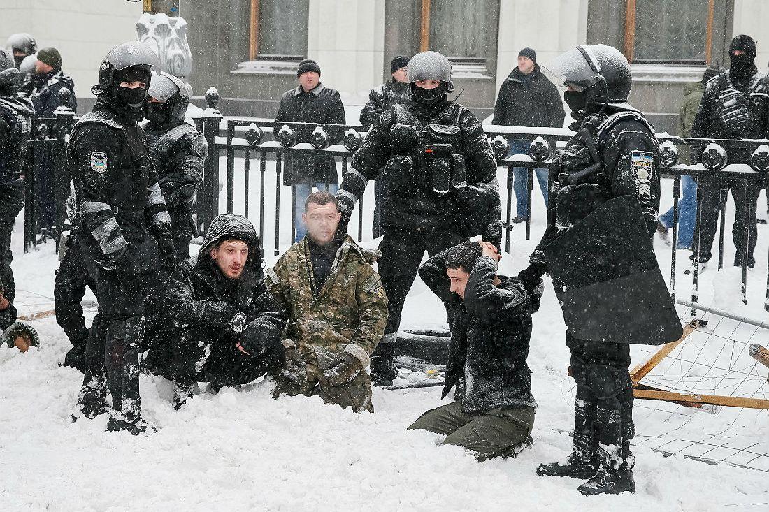 """На згадку про загиблих у ДАПі воїнів обіцяю стояти в Раді до кінця, - """"кіборг"""" Костенко (Гром) - Цензор.НЕТ 2275"""