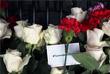 """Цветы у станции метро """"Технологический институт"""" в память о погибших в результате теракта"""