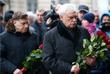 Губернатор Санкт-Петербурга Георгий Полтавченко во время возложения цветов