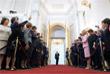 Во время торжественной церемонии вступления в должность президента РФ