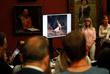 Во время брифинга сотрудников Третьяковской галереи, посвященного повреждению картины