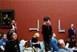 Картина была изъята из постоянной экспозиции и перенесена в реставрационную мастерскую музея