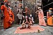 А в Индии все по графику - День йоги отмечают сегодня, но готовиться к нему, проводя массовые практики на открытом воздухе, начали так же заранее