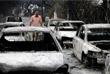 """Курортный поселок Мати является наиболее пострадавшим от огня населенным пунктом. По словам представителя правительства, после пожара Мати """"практически перестал существовать""""."""