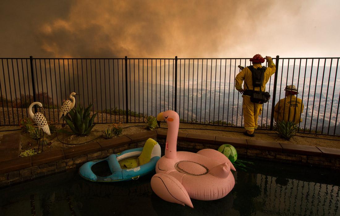 Пожары начались в Калифорнии 23 июля и с тех пор только продолжают распространяться, несмотря на усилия пожарных