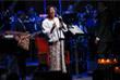 Арета Франклин принимает участие в гала-концерте, посвященному 25-летию фонда Элтона Джона по борьбе со СПИДом. 2017 год.