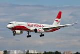 Названа причина возгорания двигателя самолета Red Wings