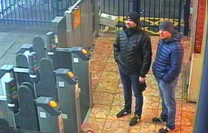 Названы имена 2-х  граждан России , обвиняемых вотравлении Скрипалей