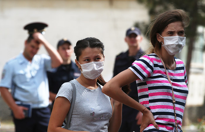 В крымском Армянске введут режим ЧС в связи с загрязнением атмосферы