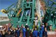 """Космонавт """"Роскосмоса"""" Алексей Овчинин и астронавт НАСА Ник Хейг перед отправкой на МКС"""