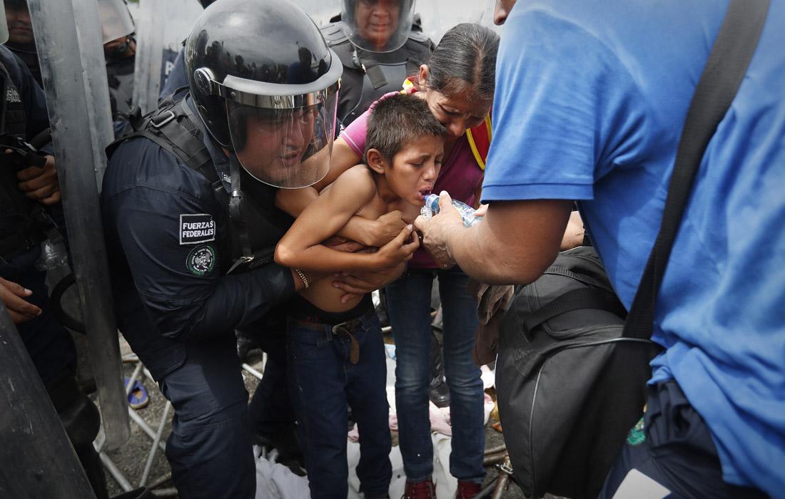 ООН уже направила в мексиканские города Сьюдад-Идальго и Тапачула на границе с Гватемалой 32 человека в составе группы чрезвычайной помощи
