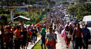 На границе Мексики и Гватемалы произошли столкновения Нацгвардии и нелегалов