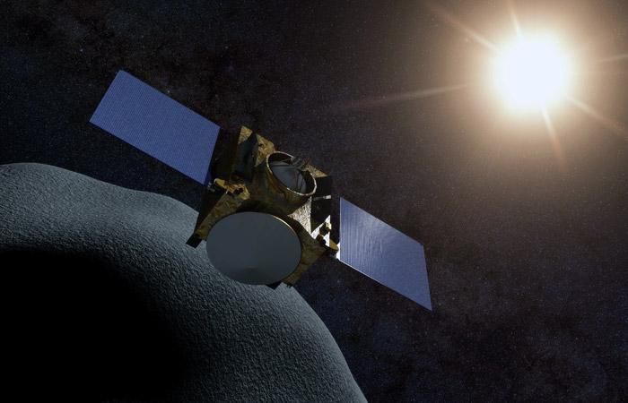 """Американский зонд """"Осирис-Рекс"""" вышел на орбиту околоземного астероида Бенну"""