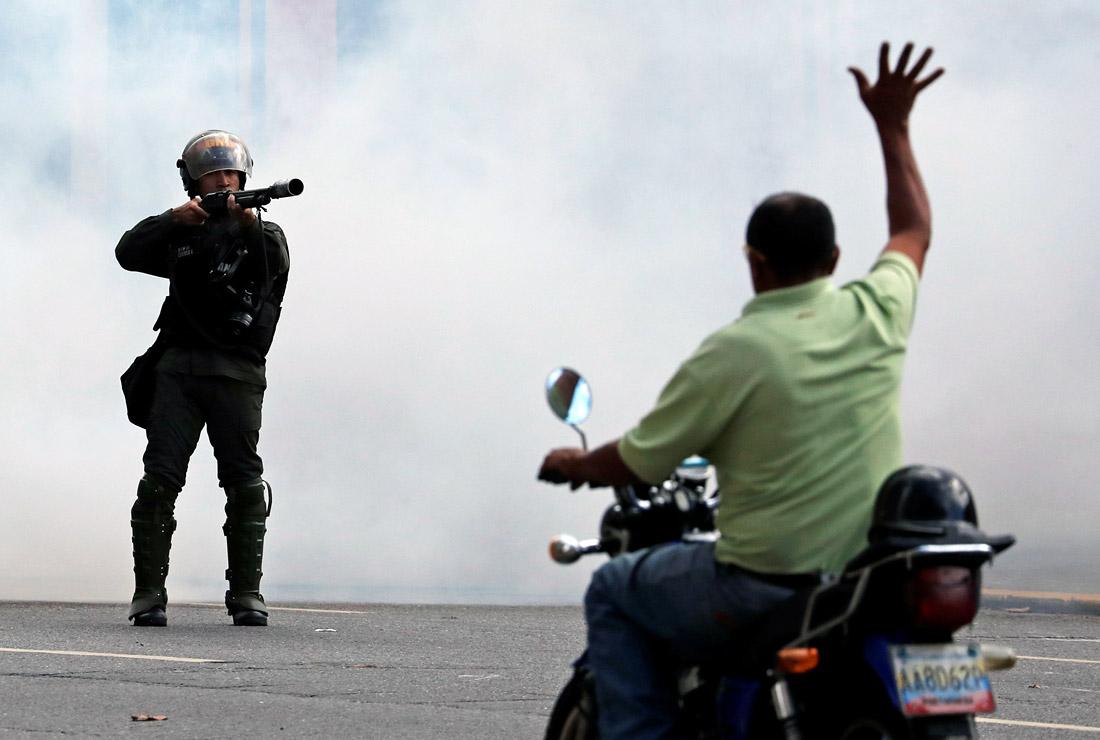 Жертвами беспорядков в Венесуэле стали 16 человек, более 150 задержаны