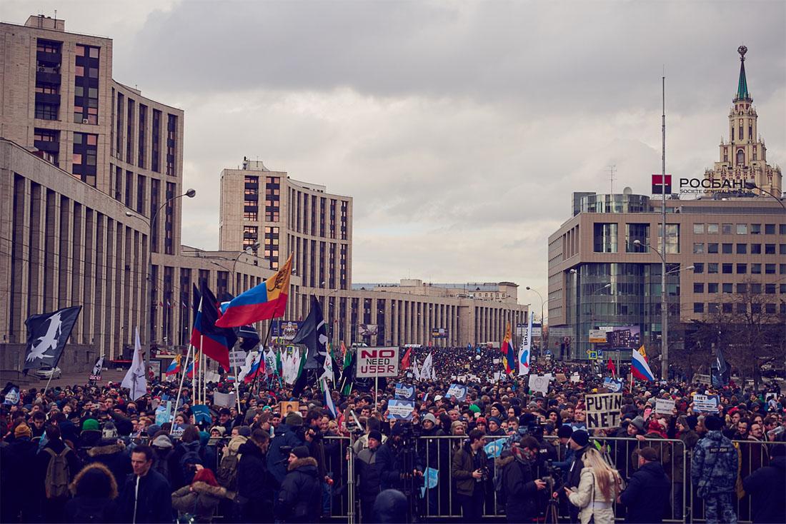 По сообщениям пресс-службы столичного главка МВД в акции приняло участие порядка 6,5 тысяч человек