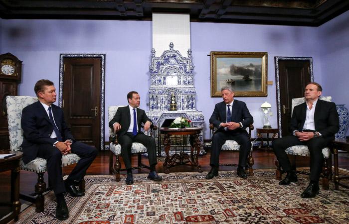 Миллер заявил о готовности продлить контракт на транзит газа через Украину