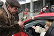 8 марта 2009 года актер и глава ГИБДД Москвы поздравляли автолюбительниц с международным женским днем