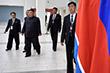 """""""Надеюсь, что наши переговоры продолжатся в том же русле, в полезном и конструктивном плане"""", - сказал Ким Чен Ын перед встречей"""